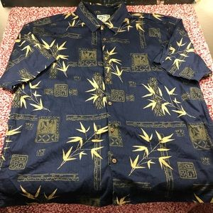 Men's Bog Dogs Button Front Shirt